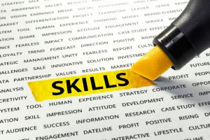 Employers are looking for specific skills